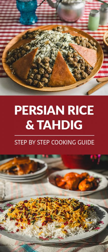 Persian rice and Tahdig cooking guide