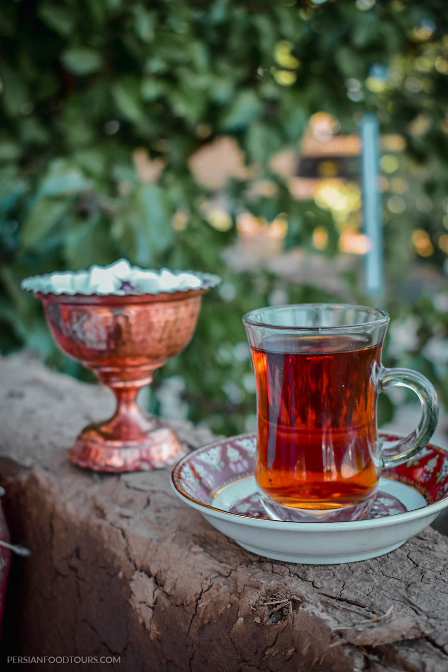 Persian black tea