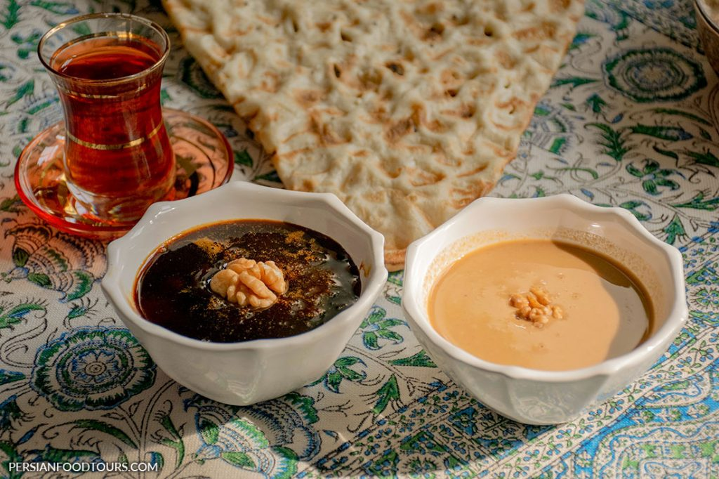 Shireh and Ardeh- Persian breakfast
